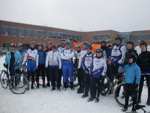 Schnee und Spaß am 14.02.2010